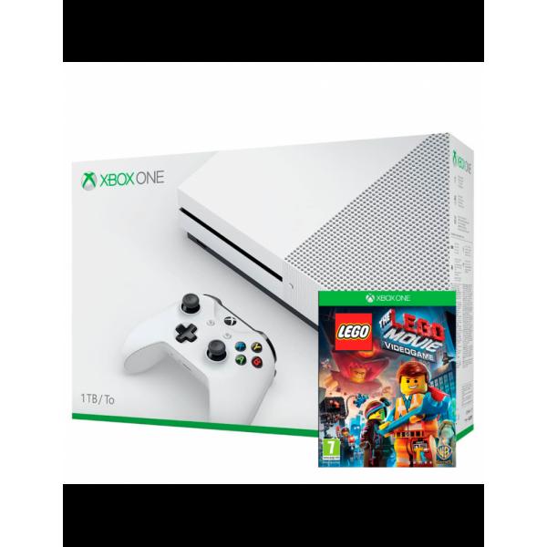XBOX ONE S 1TB + LEGO THE MOVIE Y 2 JUEGOS DEPORTE